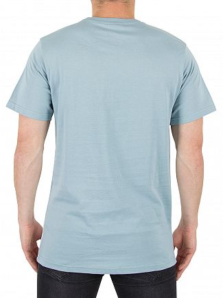 Ellesse Stone Blue/Optic White Arbatax Graphic Panel T-Shirt