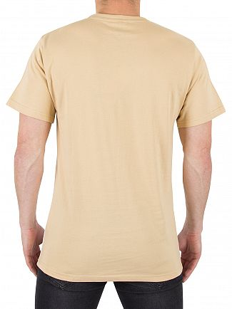 Ellesse Warm Sand/Optic Arbatax Graphic Panel T-Shirt