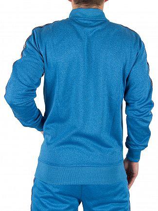 Ellesse Imperial Blue Marl Forno Vertical Logo Track Top Jacket