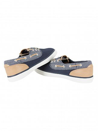 Lacoste Navy Jouer Deck 117 2 CAM Trainers