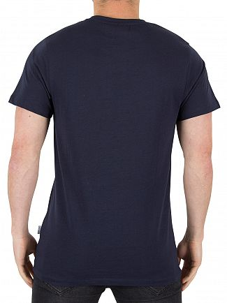 Nicce London Navy Original Logo T-Shirt
