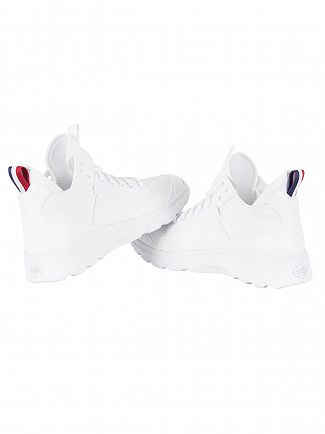 Palladium White Desvilles Trainers