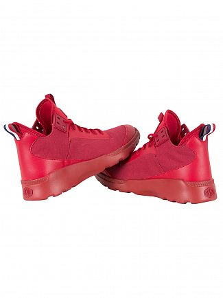 Palladium Red Desvilles Trainers