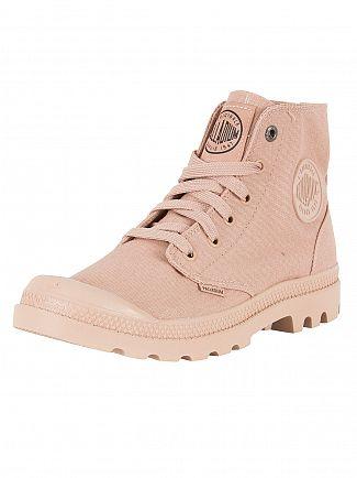 Palladium Salmon Pink Mono Chrome Hi Boots
