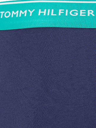 Tommy Hilfiger Bachelor Button/Raspberry/Columbia 3 Pack Premium Essentials Trunks