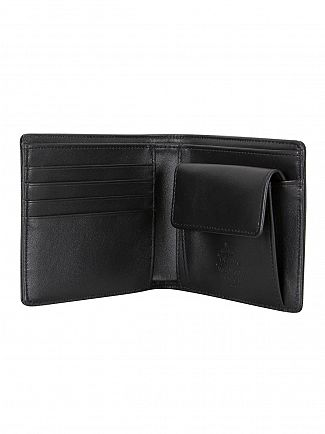 Vivienne Westwood Black Foglio Leather Wallet