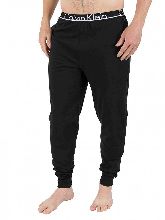 Calvin Klein Black Logo Pyjama Bottoms