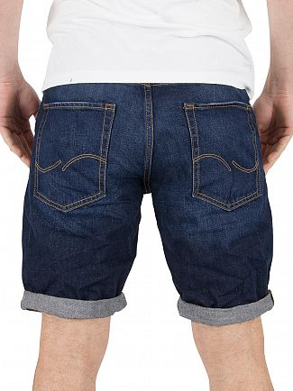 Jack & Jones Blue Rick Original 302 Denim Shorts