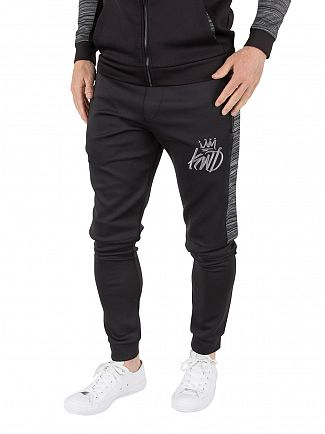Kings Will Dream Black Merton Logo Joggers