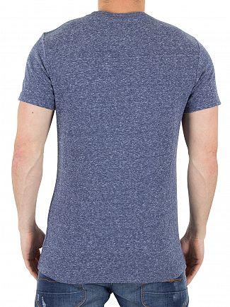 Superdry Blue Snowy Shirt Shop Surf T-Shirt