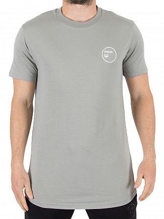 4Bidden Grey Alert Logo T-Shirt