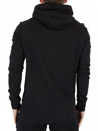 4Bidden Black Raid Zip Logo Hoodie