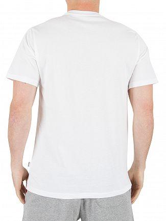 Converse White Boxstar Fill Logo T-Shirt