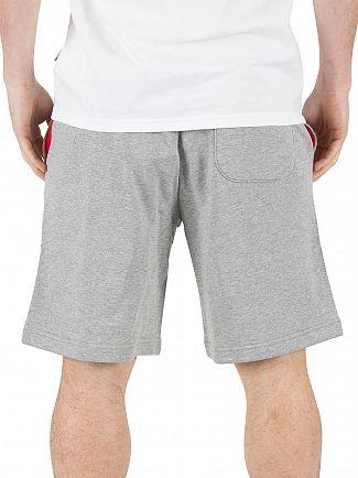 Converse Grey Mesh Boxstar Logo Shorts