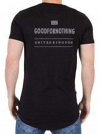 Good For Nothing Black Logo T-Shirt