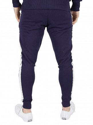 Good For Nothing Navy Stripe Logo Joggers
