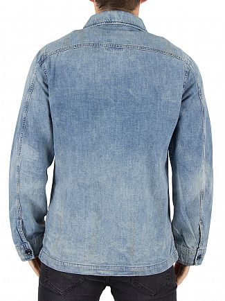 G-Star Light Vintage Aged Blake Denim Overshirt