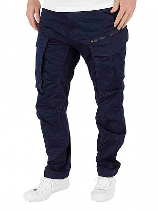G-Star Sartho Blue Rovic Zip 3D Tapered Cargos