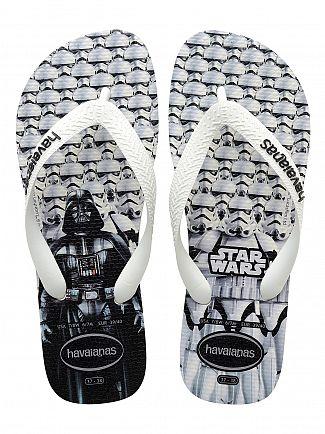 Havaianas White Star Wars Stormtrooper Flip Flops
