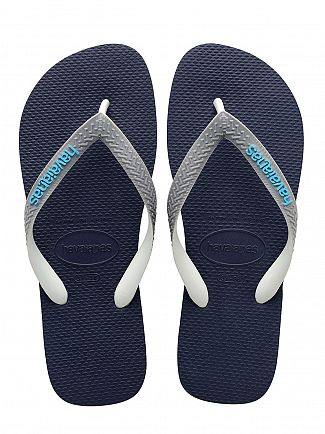 Havaianas Navy Blue/Steel Grey Top Mix Flip Flops