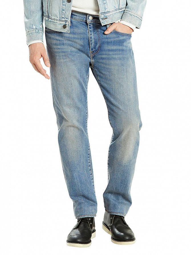 Levi's Light Denim 502 Dennis Regular Tapered Jeans