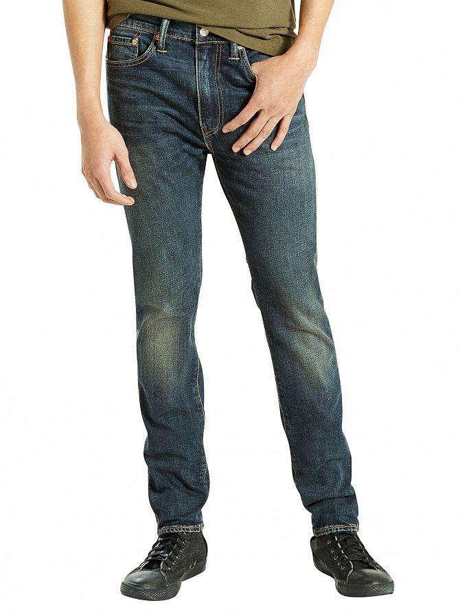 Levi's Dark Denim 510 Skinny Fit Madison Square Jeans