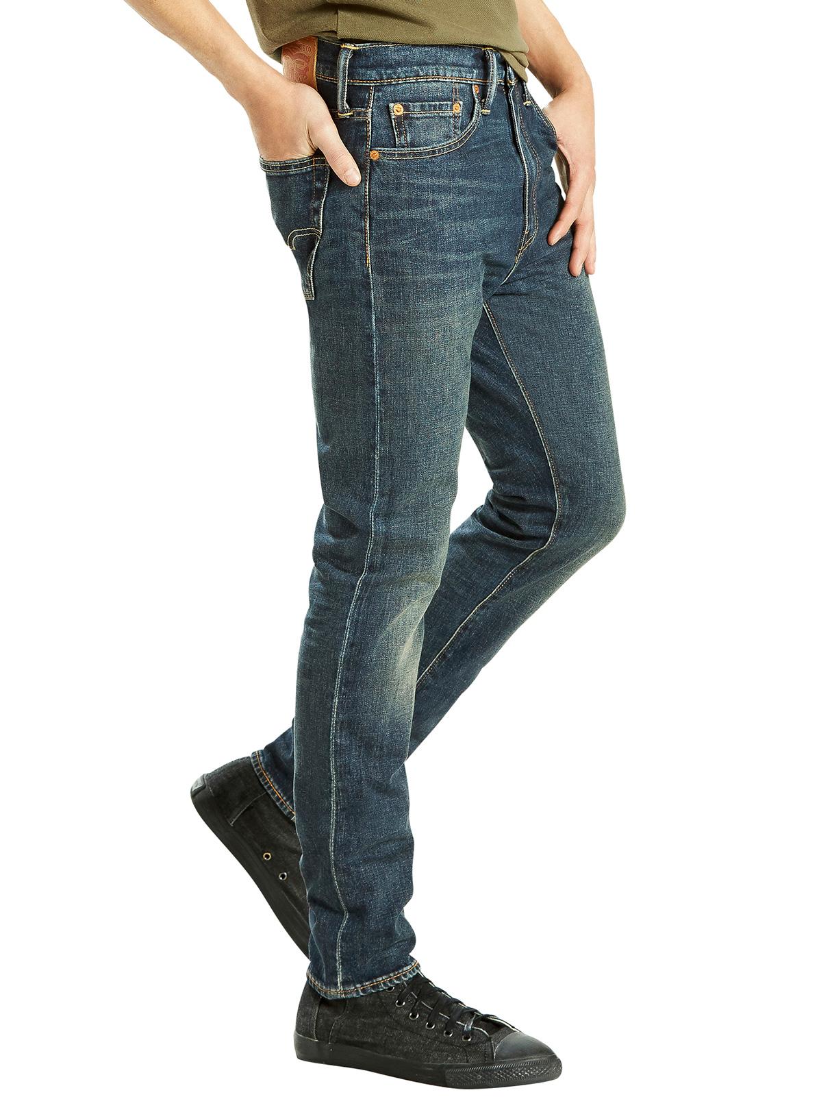 55af7bf0 Levi's Dark Denim 510 Skinny Fit Madison Square Jeans   Standout