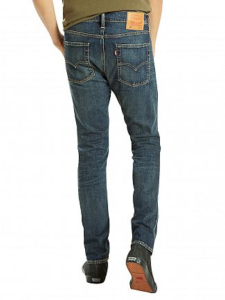 Levi's Dark Denim 510 Skinny Fit Madison Square Jeans