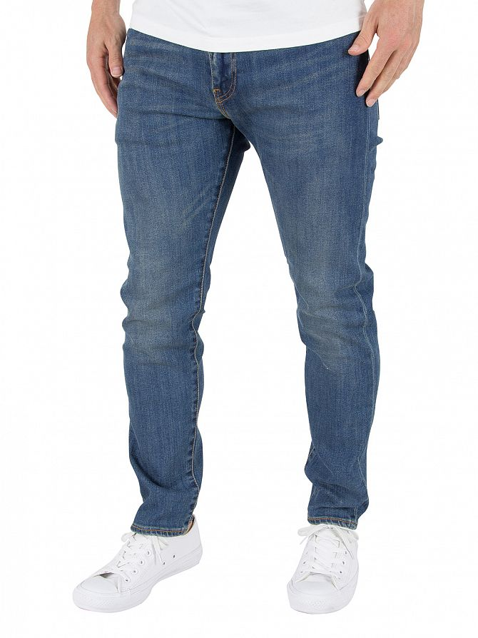 Levi's Mid Blue 512 Ludlow Slim Tapered Fit Jeans