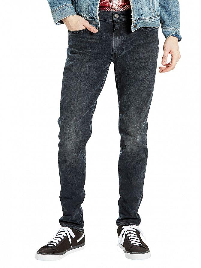 Levi's Dark Wash 512 Steinway Slim Fit Tapered Jeans