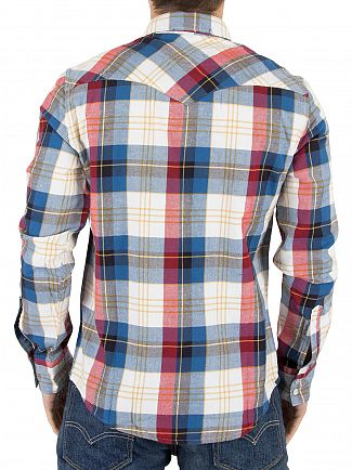 Levi's Red Barstow Western Hemp Cherry Bomb Shirt
