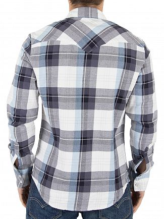 Levi's Blue Check Barstow Western Hemp Nightwatch Shirt