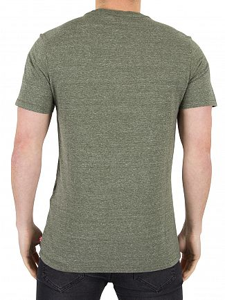 Levi's Olive Night Housemark Graphic T-Shirt
