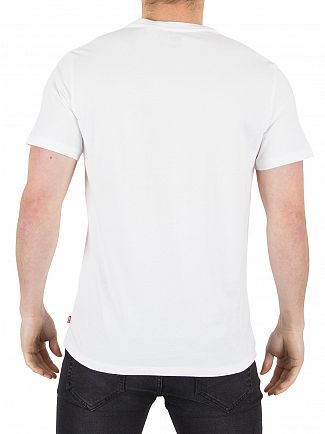 Levi's White Setin Sporty Graphic T-Shirt