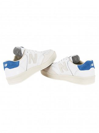 New Balance White 300 Trainers