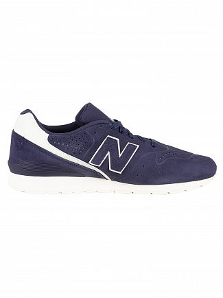 New Balance Navy/White 996 Trainers