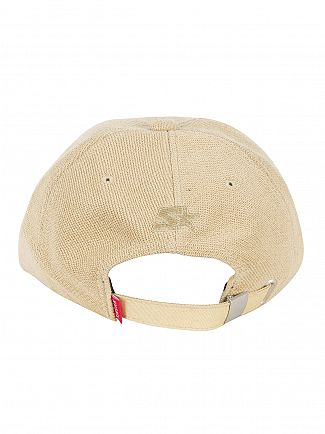 Sik Silk Khaki Terry Embroidery Logo Cap