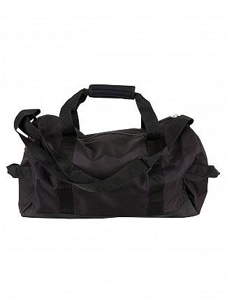 Superdry Black/Black Lineman Barrel Bag