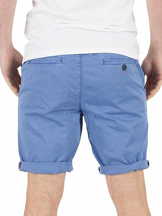 Superdry Pacific Blue Sunscorched Chino Shorts