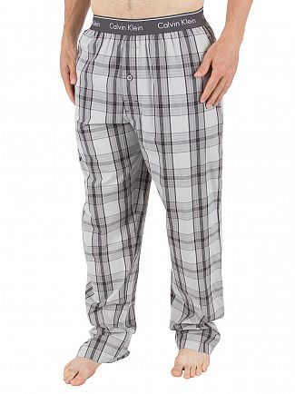 Calvin Klein Rossa Plaid Black Logo Pyjama Bottoms