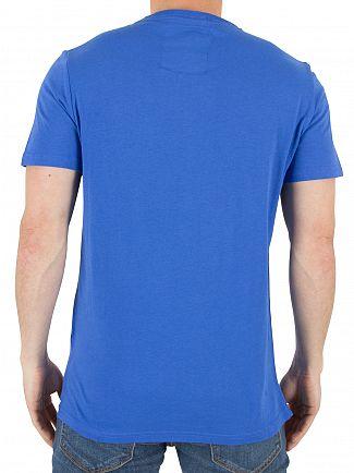 Superdry Nautical Blue Premium Goods Lite T-Shirt