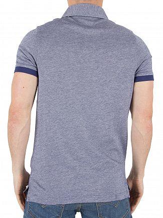 Tommy Hilfiger Medieval Blue Boris Logo Polo Shirt