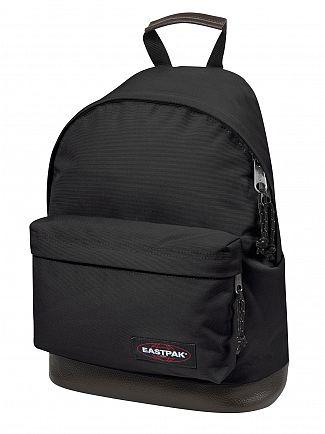 Eastpak Black Wyoming Logo Backpack