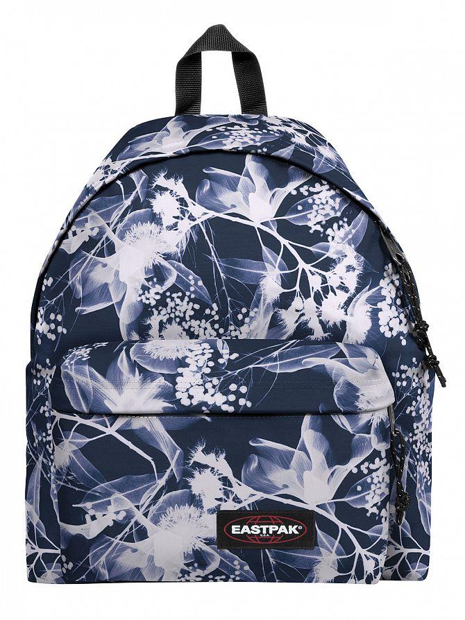 Eastpak Navy Ray Padded Pak R Logo Backpack