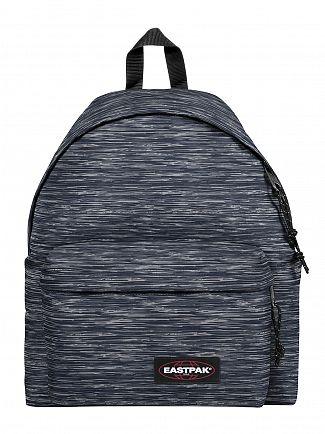 Eastpak Knit Grey Padded Pak R Logo Backpack