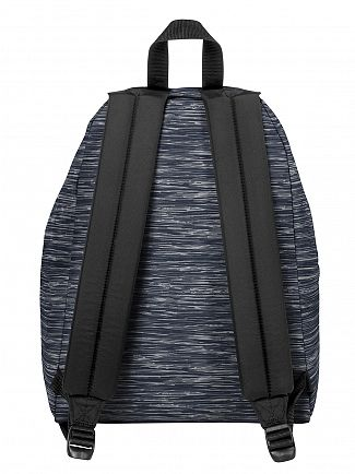 Eastpak Knit Grey Padded Pak R Logo Backpack