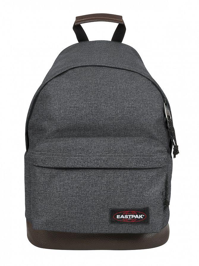 Eastpak Black Denim Wyoming Logo Backpack