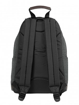 Eastpak Black Denim Wyoming Logo Backpack