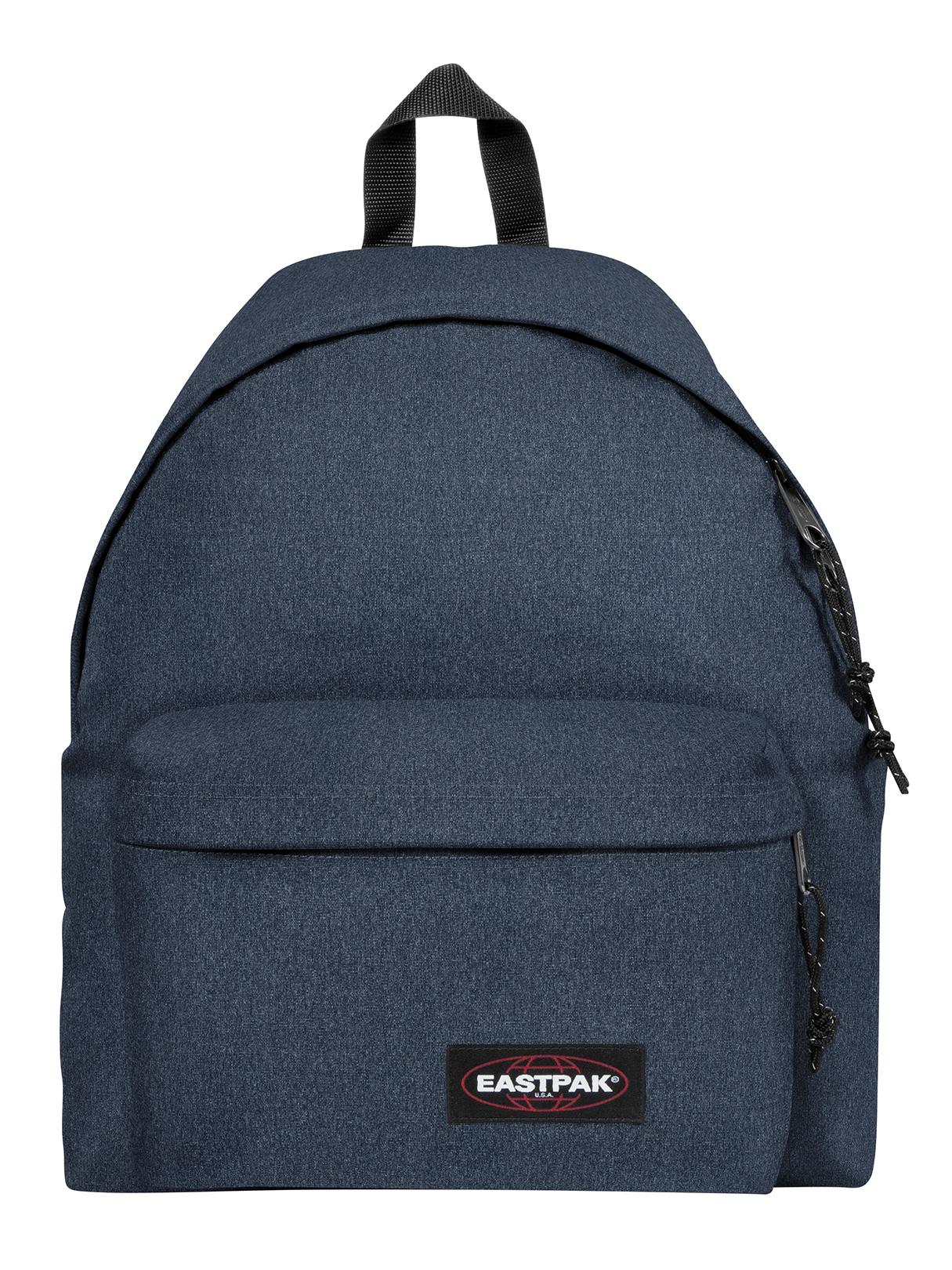 Eastpak Padded Pak R Backpack Black: Eastpak Double Denim Padded Pak R Logo Backpack