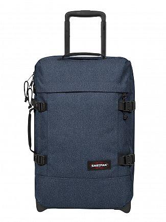 Eastpak Double Denim Tranverz S Cabin Luggage Case